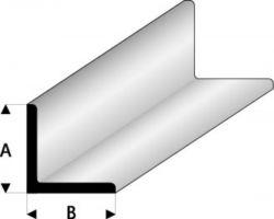 Profilo Profilo a L Angle A=B 1,5x1,5mm/0.06x0.06  x 100 cm