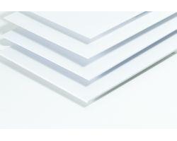 Lastra Styrene White Styrene 194x320mm 0.75