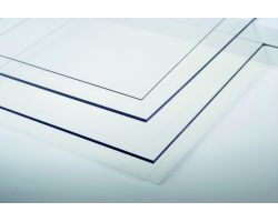 Lastra Polyester Clear Polyester 194x320mm 0.75