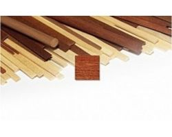 LISTELLI  2x7x1000 mm  (3 Pz) MOGANO STRIPS SAPELLY  RETTANGOLARE ( OcCre - 180027 )