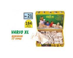 VARIO XL 184 CILINDRI IN  LEGNO COMPONIBILI ( Walachia - 21 )