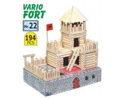 VARIO FORT 194 CILINDRI IN  LEGNO COMPONIBILI ( Walachia - 22 )