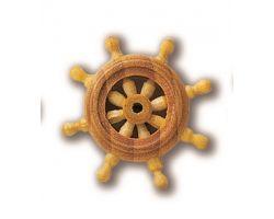 RUOTA TIMONE legno diametro 20mm (1pz)