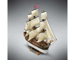 Modello kit barca HMS BOUNTY serie MINI MAMOLI in scala 1:135