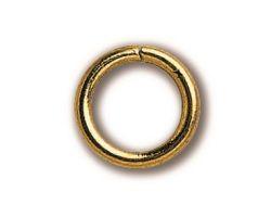 ANELLO  ottone diametro 5 x 1 mm (30 pz)