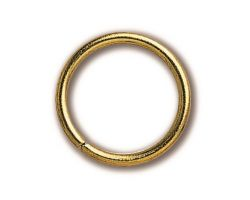 ANELLO  ottone diametro 9 x 1 mm (30 pz)