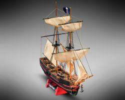Modello kit barca CAPTAIN MORGAN serie MINI MAMOLI scala 1:135