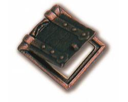 BOCCA DI CANNONE metallo 10 x 11 mm (2pz)