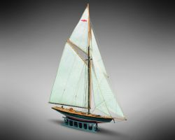 Modello kit barca BRITANNIA serie MINI MAMOLI scala 1:177