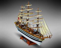 Modello kit barca AMERIGO VESPUCCI serie MINIMAMOLI scala 1:350