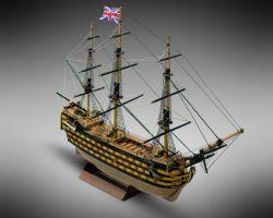 Modello kit barca VICTORY serie MINI Mamoli in scala 1:325