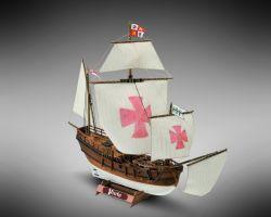 Modello kit barca PINTA serie MINI MAMOLI scala 1:106