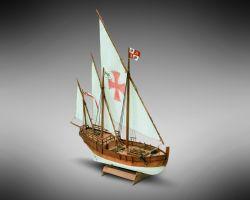 Modello kit barca NINA serie MINI MAMOLI 1:106