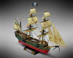 Modello kit barca BLACK QUEEN serie MINIMAMOLI scala 1:135