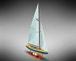 Modello kit barca STAR GENZIANELLA serie MINIMAMOLI in scala 1:32