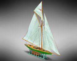 Modello kit barca SHAMROCK serie Mini Mamoli scala 1:170
