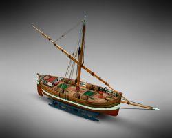 Modello kit barca IL LEUDO serie Mini Mamoli scala 1:72