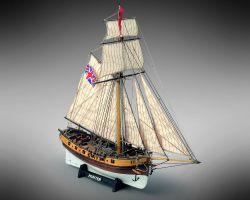 Modello kit barca HUNTER Wooden ship model kit