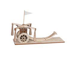 Carro con mazze ruotanti di Leonardo Da Vinci