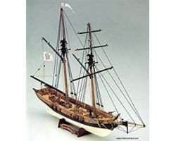 Modello kit barca BLACK PRINCE Wooden ship model kit
