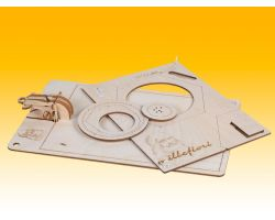 Millefiori kit di montaggio in legno