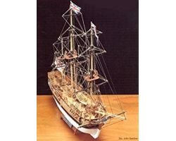 Modello kit barca BOUNTY Wooden ship model kit scala 1/100