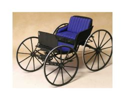 MODEL TRAILWAYS 19TH CENTURY WOOD & METAL DOCTOR\'S BUGGY