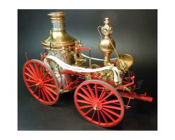 MODEL TRAILWAYS ALLERTON STEAM PUMPER FIRE ENGINE
