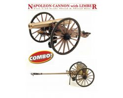 GUNS OF HISTORY NAPOLEON CANNON 12 LBR WITH LIMBER, GUERRA CIVILE AMERICANA 1857