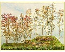 Alberi in filigrana Pacco-Medio +/- 12 alberi ( Er Decor - ER.2002 )