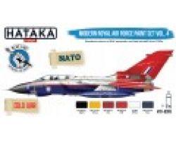 Hataka Hobby Modern Royal Air Force paint set vol.4