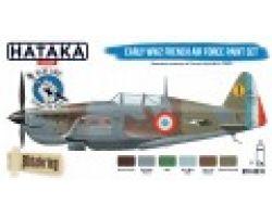 Hataka Hobby Early WW2 French Air Force paint set