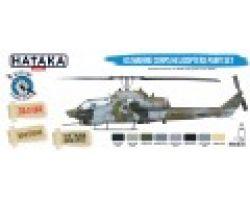 Hataka Hobby US Marine Corps Helicopters paint set