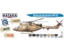 Hataka Hobby British AAC Helicopters paint set