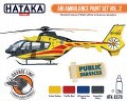Hataka Hobby Air Ambulance paint set vol.2