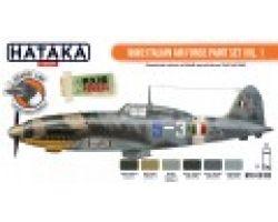 Hataka Hobby WW2 Italian Air Force Paint Set Vol.1