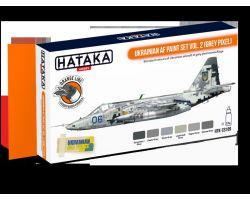 Hataka Hobby Ukrainian AF paint set vol.2 (grey pixel)
