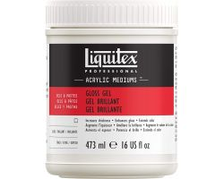 Liquitex Acrylic Mediums Gloss Gel (Gel Brillante) 478 ml