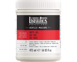 Liquitex Acrylic Mediums Matte Gel (Gel Opaco) 473 ml
