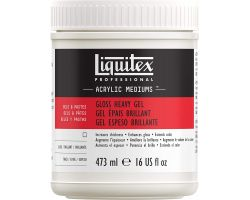 Liquitex Acrylic Mediums Gloss Heavy (Gel Gel Denso Brillante) 473 ml
