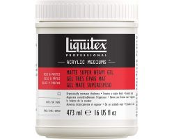 Liquitex Acrylic Mediums Matte Super Heavy Gel (Gel Molto Denso Opaco)  473 ml