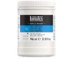 Liquitex Acrylic Mediums Super Heavy Gesso (Gesso Molto denso) 946 ml