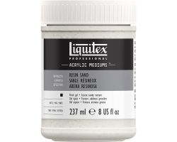 Liquitex Acrylic Mediums Resin Sand (Sabbia Resinosa) 237 ml
