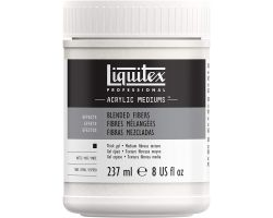Liquitex Acrylic Mediums Blended Fibers (Fibre Miste) 237 ml