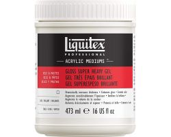Liquitex Acrylic Mediums Gloss Super Heavy Gel (Gel Molto Denso Brillante) 473 ml