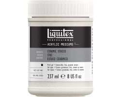 Liquitex Acrylic Mediums Ceramic Stucco 237 ml