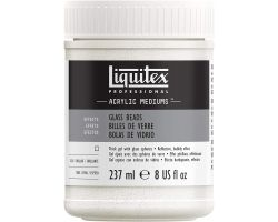 Liquitex Acrylic Mediums Glass Beads (Biglie Trasparenti) 237 ml
