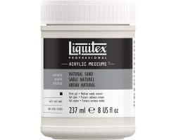 Liquitex Acrylic Mediums Natural Sand (Sabbia Naturale) 237 ml