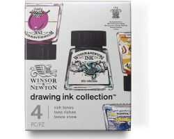 Winsor & Newton Drawing Ink Collection Rich Tones (Toni Ricchi)
