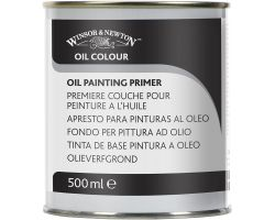 Winsor & Newton Oil Colour Oil Painting Primer (Fondo per Pittura ad Olio) 500 ml